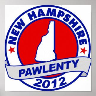 Pawlenty - New Hampshire Impresiones