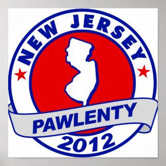 Pawlenty - New Jersey Impresiones
