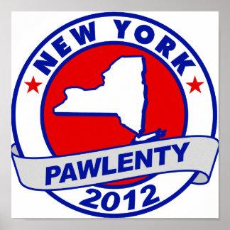 Pawlenty - Nueva York Impresiones