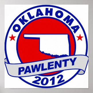 Pawlenty - Oklahoma Poster