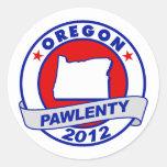 Pawlenty - oregon stickers