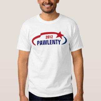 Pawlenty PARA el PRESIDENTE Playeras