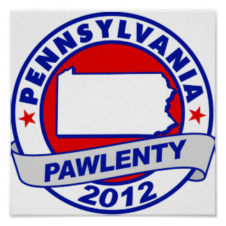 Pawlenty - Pennsylvania Poster
