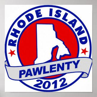 Pawlenty - Rhode Island Impresiones
