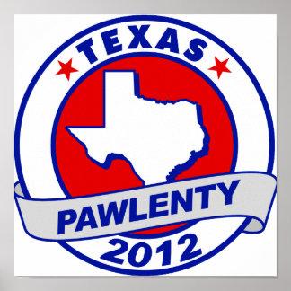 Pawlenty - Tejas Poster