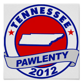 Pawlenty - Tennessee Poster
