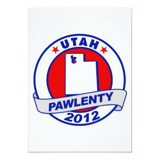 Pawlenty - utah announcements