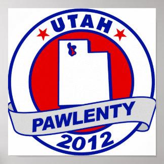 Pawlenty - Utah Impresiones