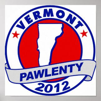 Pawlenty - Vermont Poster
