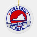 Pawlenty - Virginia Adornos De Navidad