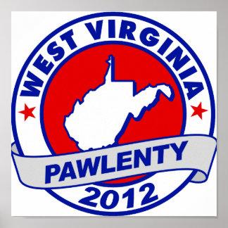 Pawlenty - Virginia Occidental Poster