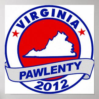 Pawlenty - Virginia Poster