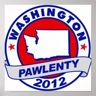 Pawlenty - Washington Posters