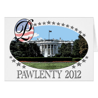 Pawlenty White House 2012 Card