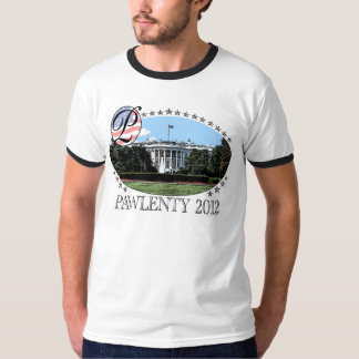 Pawlenty White House 2012 T-Shirt