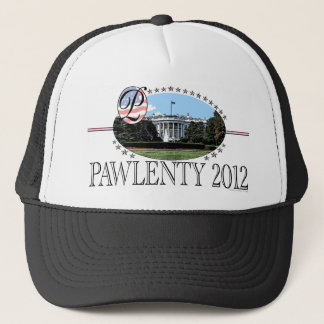 Pawlenty White House 2012 Trucker Hat