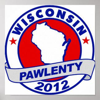 Pawlenty - Wisconsin Posters