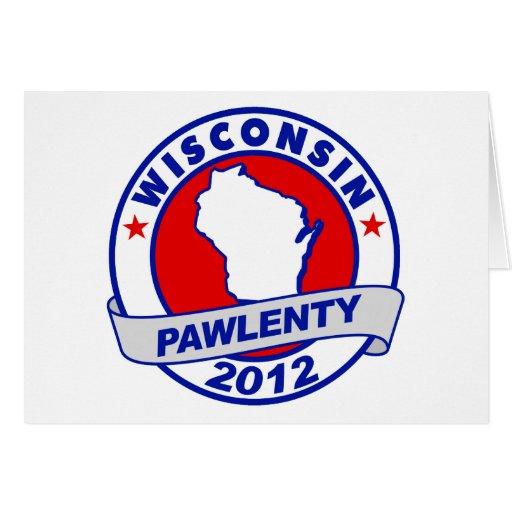 Pawlenty - Wisconsin Tarjeta