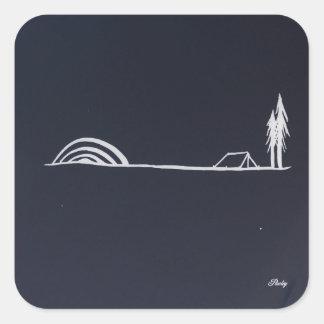 pawley night camp sticker