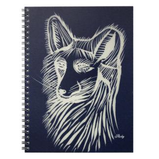 Pawley night fox notebook