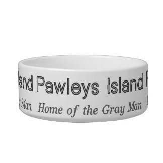 Pawleys Island Gray Man Bowl