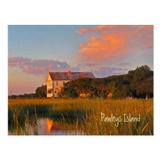 Pawleys Island Pelican Inn Postcard