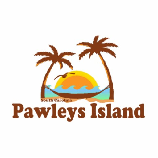 Pawleys Island. Photo Cut Outs
