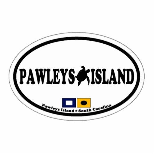 Pawleys Island. Acrylic Cut Outs