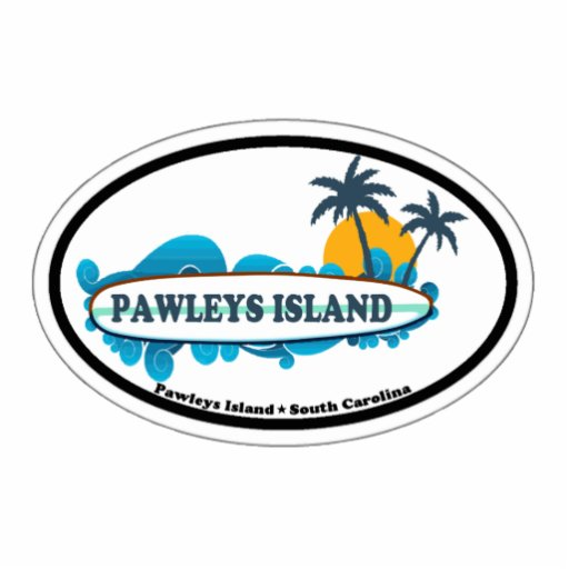 Pawleys Island. Photo Cutout
