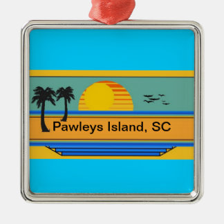Pawleys Island, SC Metal Ornament