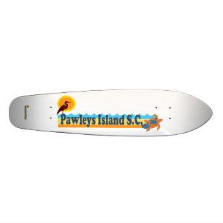 Pawleys Island. Skateboard