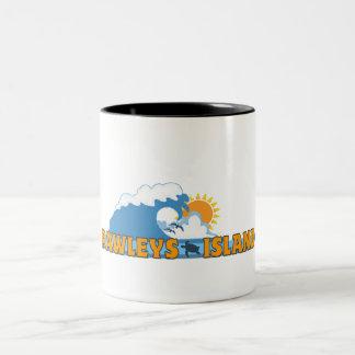 Pawleys Island. Two-Tone Coffee Mug