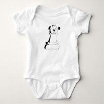 Pawn baby bodysuit