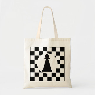 Pawn Chess Piece - Tote - Chess Party Favors Budget Tote Bag
