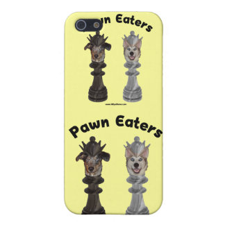 Pawn Eaters Chess Dogs iPhone 5 Case