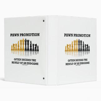 Pawn Promotion Often Decides The Result Of Endgame Binder