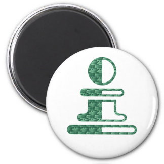 Pawn Round Pin Refrigerator Magnets