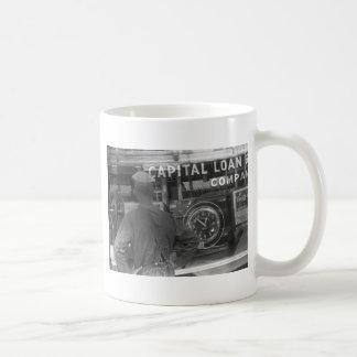 Pawn Shop Window, 1930s Classic White Coffee Mug