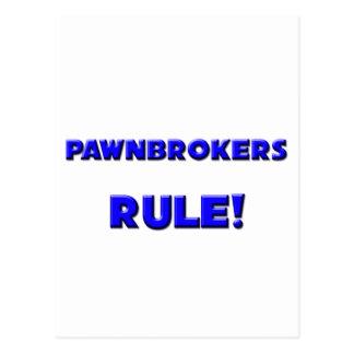Pawnbrokers Rule! Postcard