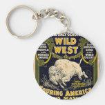 Pawnee Bill Shows Wild West Key Chain