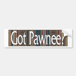 Pawnee Pegatina Para Auto