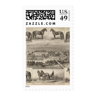 Pawnee Valley Stock Breeders' Association, Kansas Stamps