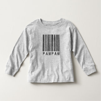 PawPaw Barcode Toddler T-shirt