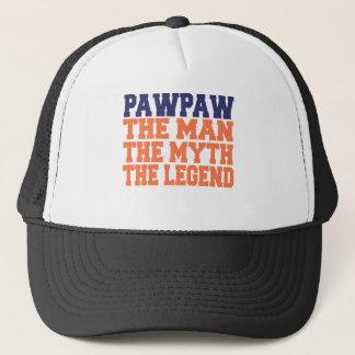 PawPaw (Blue-Orange) Trucker Hat