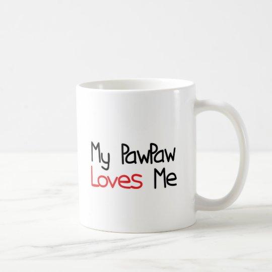 PawPaw Loves Me Coffee Mug