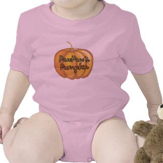 PawPaw's Pumpkin Baby Bodysuits