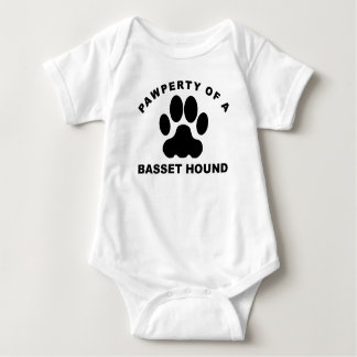 Pawperty de Basset Hound Playeras