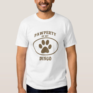 Pawperty of my Dingo T-shirt