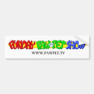 Pawpet Bumber Sticker