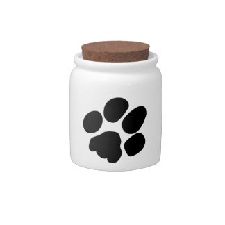 Pawprint Candy Dishes